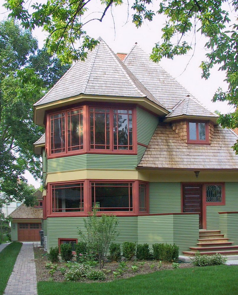 frank lloyd wright thomas gale house renovation and addition oak park il.